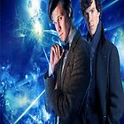 The Doctor and Sherlock by WhovianLillie