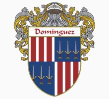 Domínguez Coat of Arms/Family Crest by William Martin