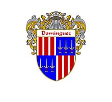 Domínguez Coat of Arms/Family Crest Photographic Print
