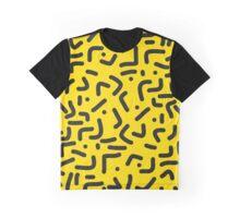 Marsupilami Yellow pattern Graphic T-Shirt