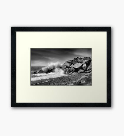 POWER BY NATURE Framed Print