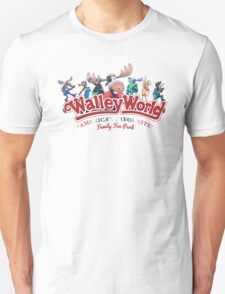 Walley World Full Character Americas Favourite Curved Graphic Logo T-Shirt