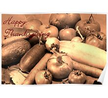 Happy Thankgiving Poster