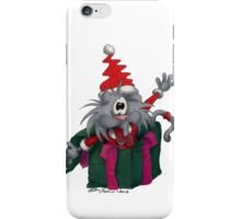 Gato christmas time #7 iPhone Case/Skin