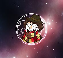 50th Anniversary 4th Doctor by nowaitwhat