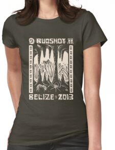 """2013 """"BugShot"""" Belize Macro Workshop Shirt by Kathleen Neeley Womens Fitted T-Shirt"""