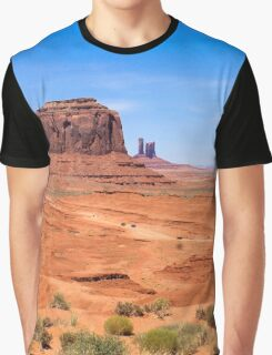 Monument Valley Cowboy Graphic T-Shirt