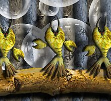 Feather Lobsters by GolemAura