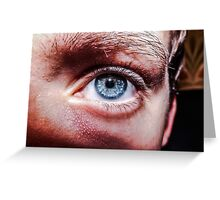 Blue eye. Greeting Card
