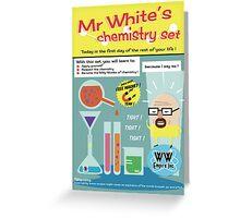 Heisenberg's Chemistry Set Greeting Card