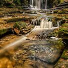 Nant Mill Waterfall by Adrian Evans