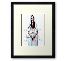 Mother Confessor Framed Print