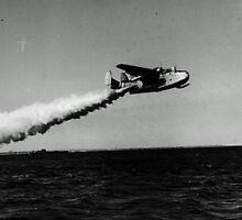 USCG Martin PBM-5 Mariner by John Schneider