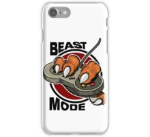 beast mode  iPhone Case/Skin