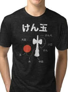 Kendama Anatomy Tri-blend T-Shirt