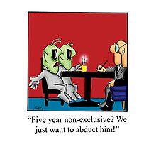 Funny Lawyer Cartoon Photographic Print