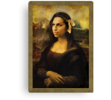 Gioconda Winehouse Canvas Print