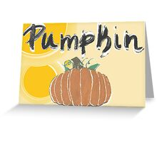 pumpkin1 Greeting Card