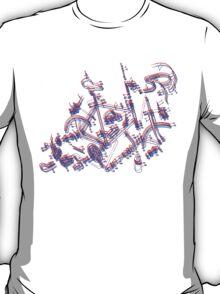 Bike diagram T-Shirt