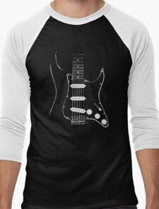black glowstrings  Men's Baseball ¾ T-Shirt