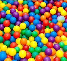 colored balls by 79billy