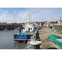 Scarborough Harbour Photographic Print