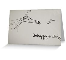 Dalmatian & Bee Greeting Card