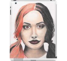 Portrait of Ash Costello iPad Case/Skin