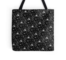 Cryptid Pattern (Black Background) Tote Bag