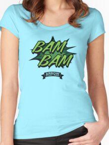 Arrow - Bam Bam - Arrow Stunt Team Women's Fitted Scoop T-Shirt