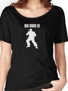 My Main Is Ryu (Smash Bros) Women's Relaxed Fit T-Shirt