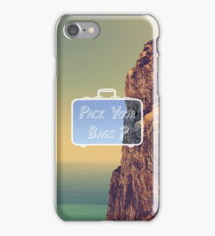 Pack Your Bags: Gibraltar iPhone Case/Skin