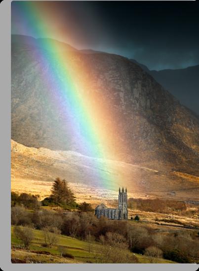 Church Under The Rainbow by Derek Smyth