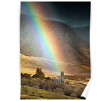 Church Under The Rainbow Poster