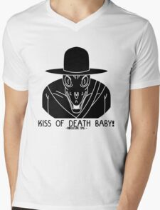 KISS OF DEATH BABY! Mens V-Neck T-Shirt