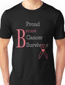 Proud Breast Cancer Survivor Unisex T-Shirt