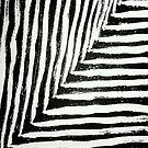 stripes in black and white by WhiteDove Studio kj gordon
