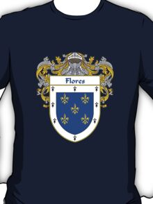 Flores Coat of Arms/Family Crest T-Shirt