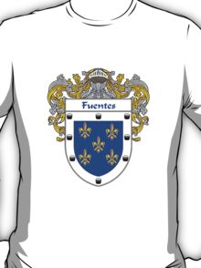 Fuentes Coat of Arms/Family Crest T-Shirt
