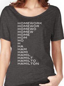 Hamilton > homework Women's Relaxed Fit T-Shirt