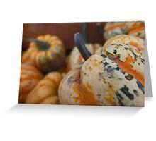 Fall Fruit  Greeting Card