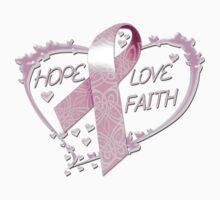 Hope Love Faith by magiktees