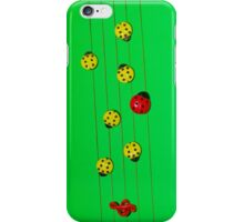 Ladybugs as Music iPhone Case/Skin