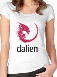 Dalien distro Women's Fitted Scoop T-Shirt