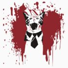 Business Cat meets Patrick Bateman by FlyNebula