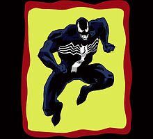 Venom: Old Sketch Reborn 9 (iPad Case) by William Brennan