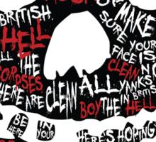 Misfit Erratic London Dungeon Sticker