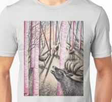 The 3 sirens and the moonlite serenade Unisex T-Shirt
