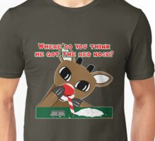 Rudolph's Red Nose Unisex T-Shirt
