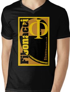 Fibonacci Mens V-Neck T-Shirt